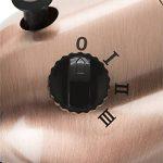 Ventilateur sur pied Tristar VE-5971 – 40,64 cm – Métal – Finition en cuivre de la marque Tristar image 2 produit