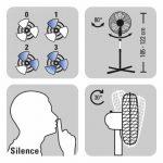 Ventilateur sur pied ultra silencieux -> comment acheter les meilleurs en france TOP 2 image 4 produit