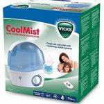 Vicks Mini Cool Mist - Mini humidificateur à ultrasons à air froid - VH5000 de la marque Vicks image 1 produit