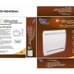 Voltman DIO080903 Radiateur électrique inertie Chaleur douce Calouna 1000 W de la marque Voltman image 3 produit