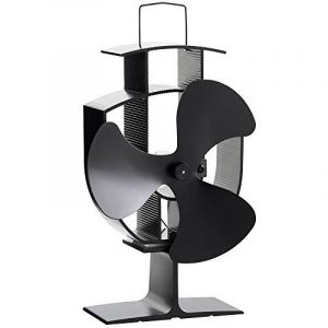VonHaus Ventilateur pour Poêle à Bois/Granulés 3 Pales – Acier Noir de la marque VonHaus image 0 produit