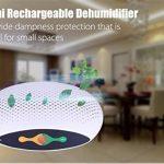 ZTYR Mini déshumidificateur, déshumidificateur portable à domicile Déshumidificateur d'air renouvelable pour coffres-forts, armoires de sécurité, placards, évier de cuisine, bateaux, véhicules récréatifs , green de la marque ZTYR Déshumidificateur image 4 produit