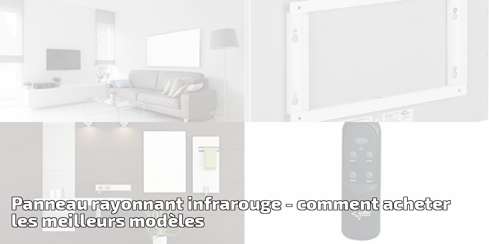 chauffage rayonnant infrarouge gallery of quel radiateur lectrique choisir inertie rayonnant. Black Bedroom Furniture Sets. Home Design Ideas