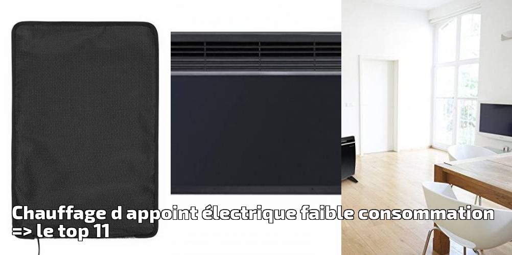 chauffage d appoint lectrique faible consommation le top 11 pour 2019 chauffage et. Black Bedroom Furniture Sets. Home Design Ideas