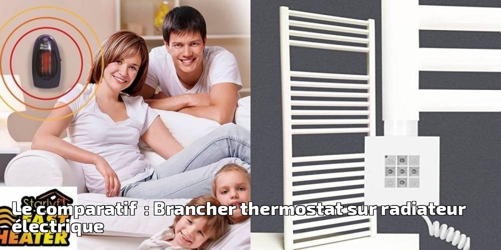 le comparatif brancher thermostat sur radiateur. Black Bedroom Furniture Sets. Home Design Ideas
