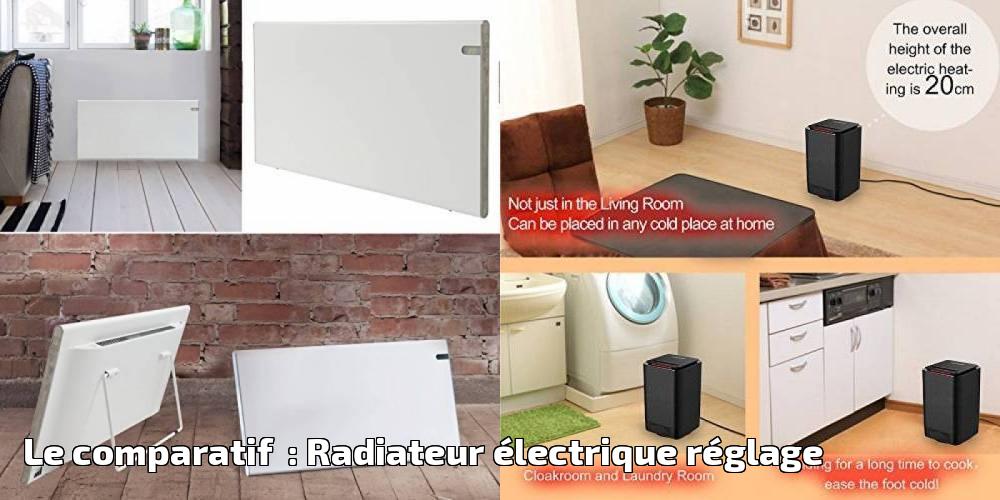 le comparatif radiateur lectrique r glage pour 2019. Black Bedroom Furniture Sets. Home Design Ideas